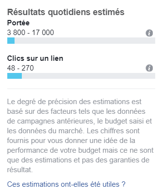 Image portée audience Facebook Ads