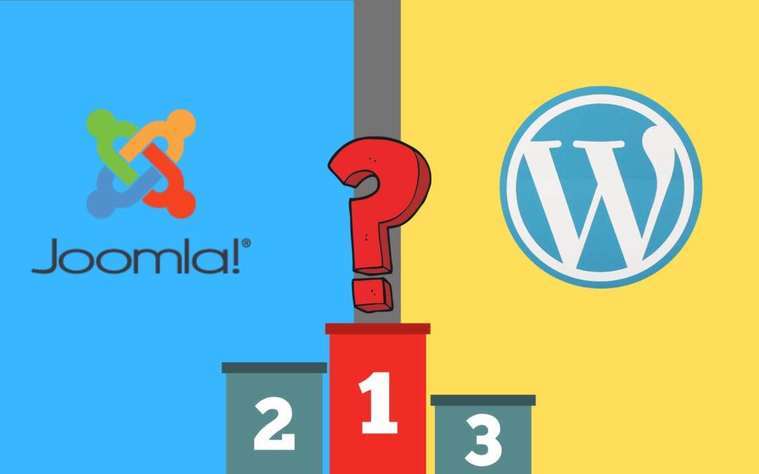 WordPress ou Joomla : Quel CMS choisir pour votre site Web ?